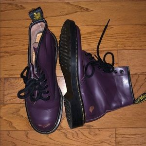 Dr. Martens Distressed 1460 Boot- Purple